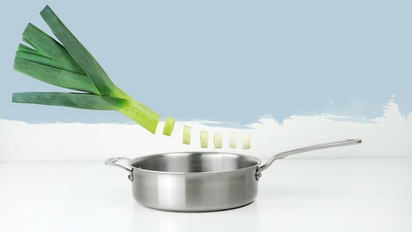 Comment faire une fondue de poireaux ?