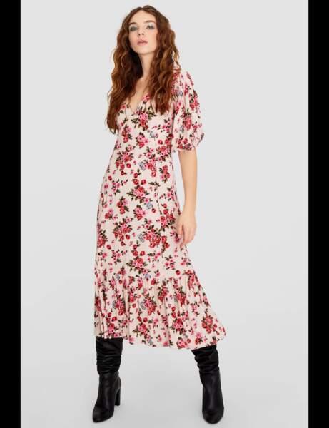 Tendance robe imprimée : romantique