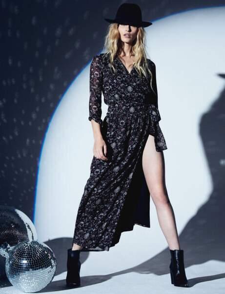 Tendance robe imprimée : rock'n glam