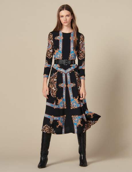 Tendance robe imprimée : seventies