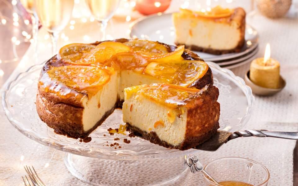 Cheesecake à l'orange et aux spéculoos