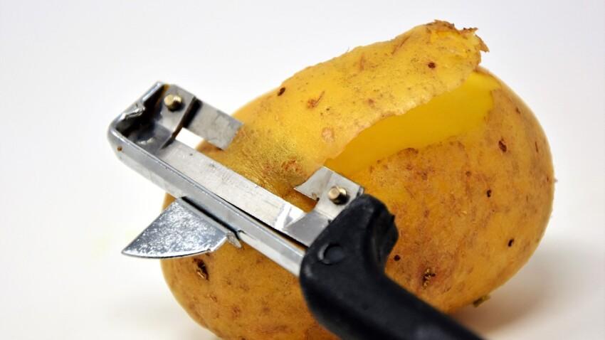 Comment conserver des pommes de terre épluchées ?