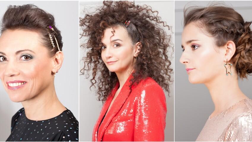 Cheveux fins, frisés, souples : idées faciles et conseils de pro pour une vraie coiffure de soirée