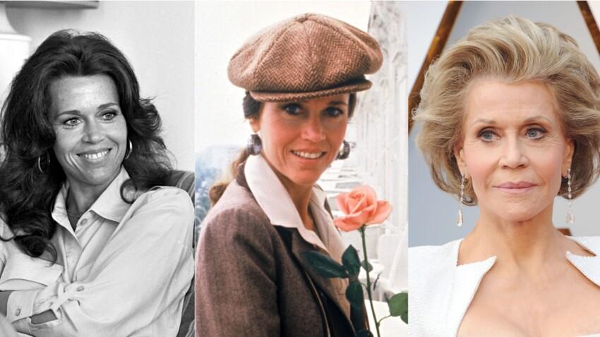 Jane Fonda : son évolution physique en images