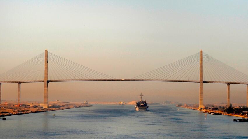 Le canal de Suez, incontournable depuis 150 ans