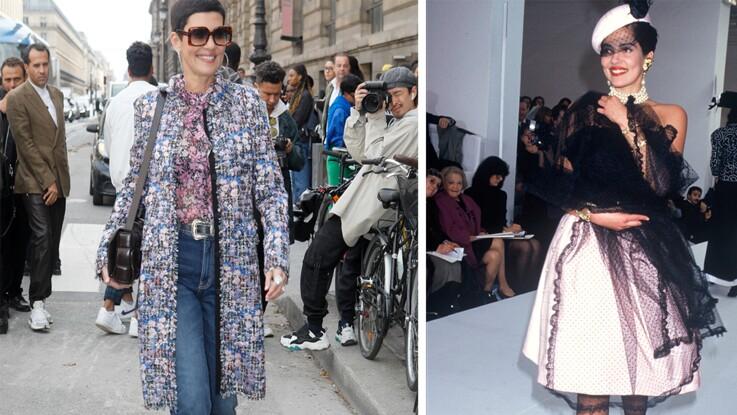 Photos - Cristina Cordula de mannequin à reine du style, retour en images sur ses looks les plus marquants !
