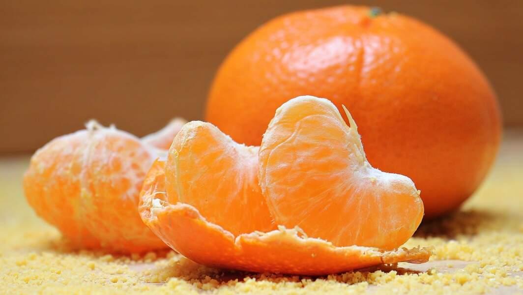 La mandarine et la clémentine