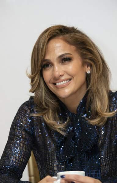 Le dégradé glamour de Jennifer Lopez