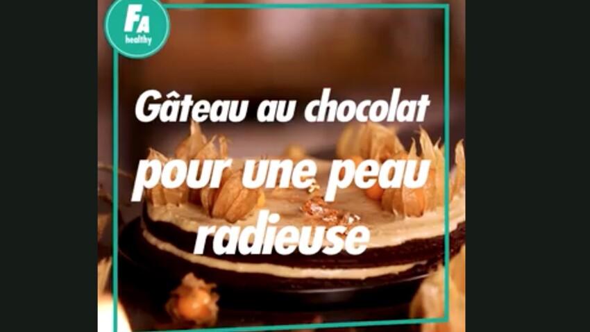 Gâteau au chocolat pour une peau radieuse : la recette en vidéo