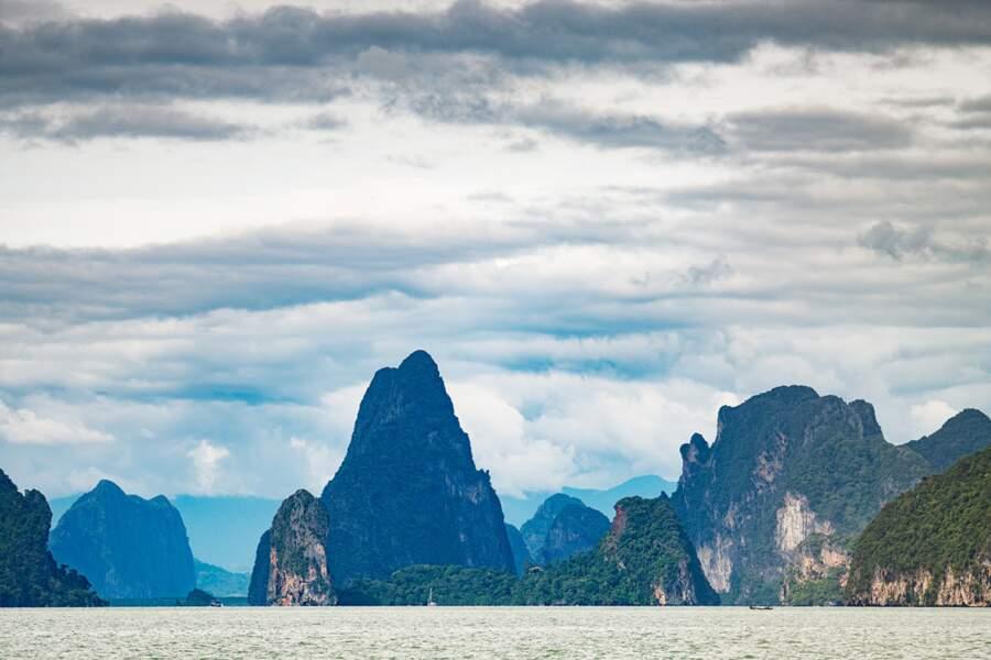 Baie de Phang Nga : chez Chewbacca en Thaïlande