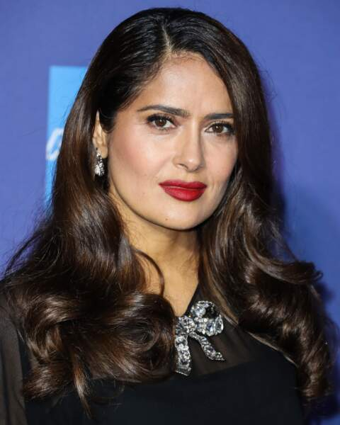 Des boucles glamour comme Salma Hayek