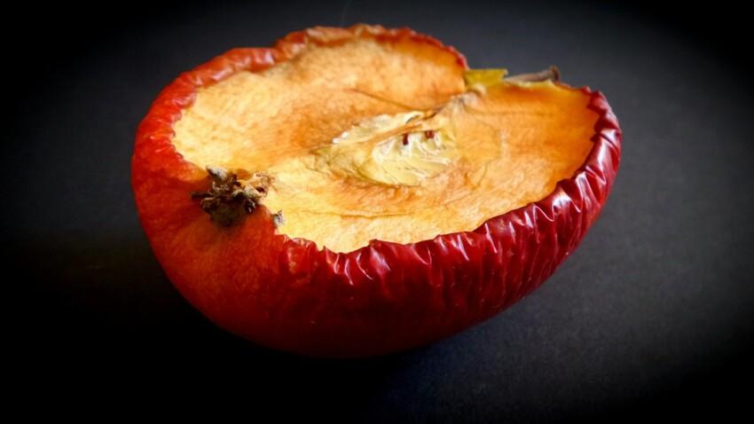 Comment redonner vie à une pomme flétrie ?