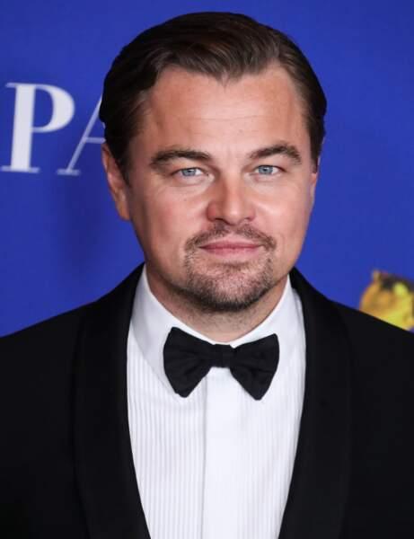 La coupe lustrée de Leonardo DiCaprio