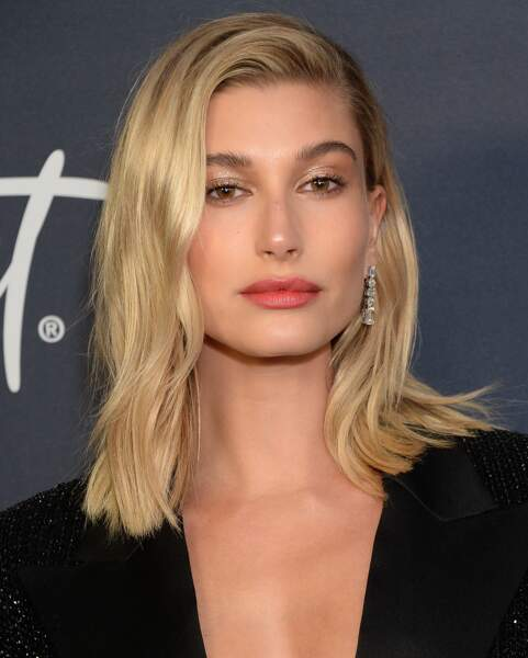 Le carré long d'Hailey Baldwin