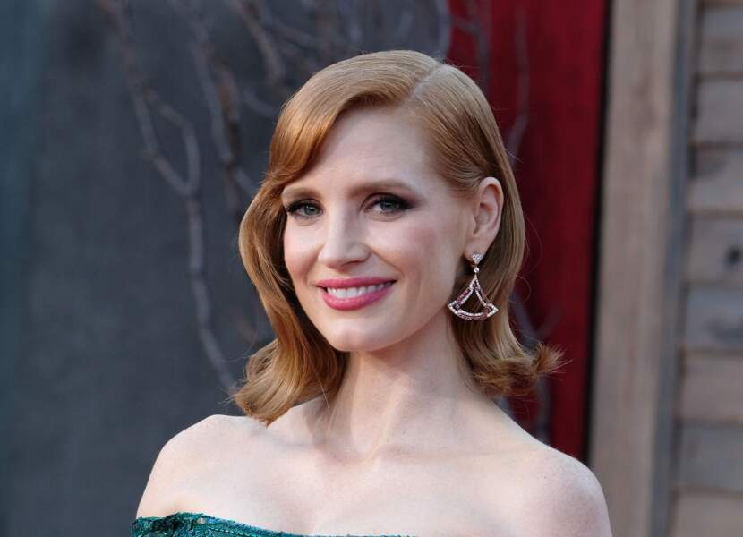 Le carré hollywoodien de Jessica Chastain