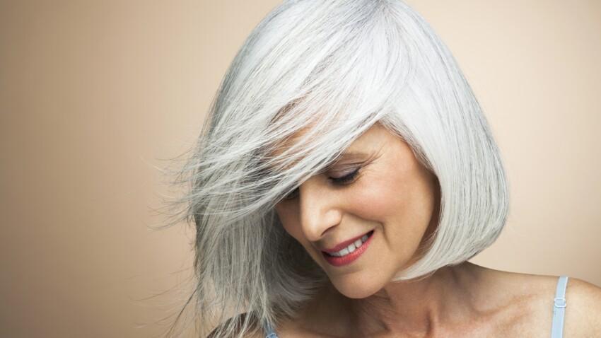 Cheveux blancs : comment arrêter les colorations ?