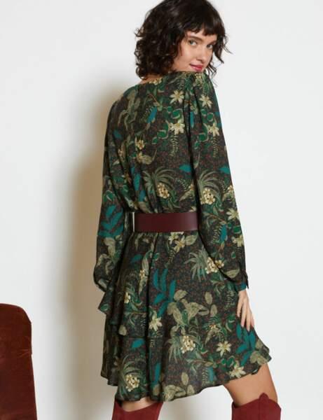 Soldes d'hiver : la robe tropicale