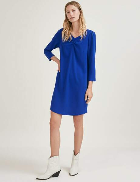 "Soldes d'hiver : la robe ""blue classic"""