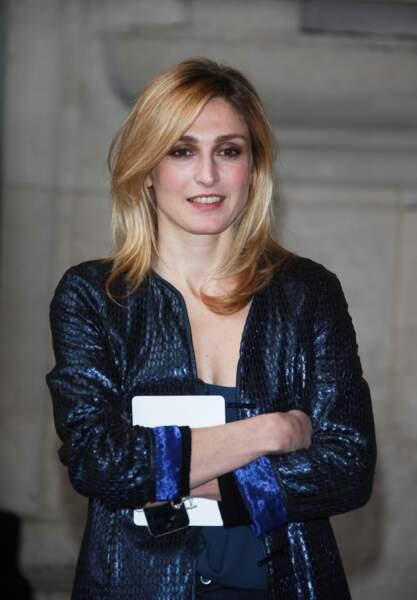 Avec un blond cuivré en 2013