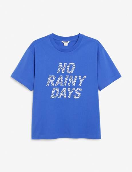 Soldes d'hiver : le tee-shirt à message
