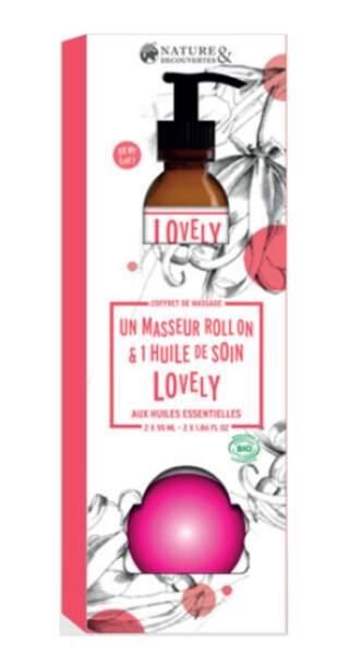 Un kit de massage aux huiles essentielles - Nature et Découvertes