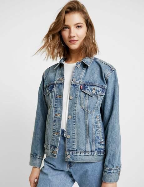 Soldes d'hiver : la veste en jean