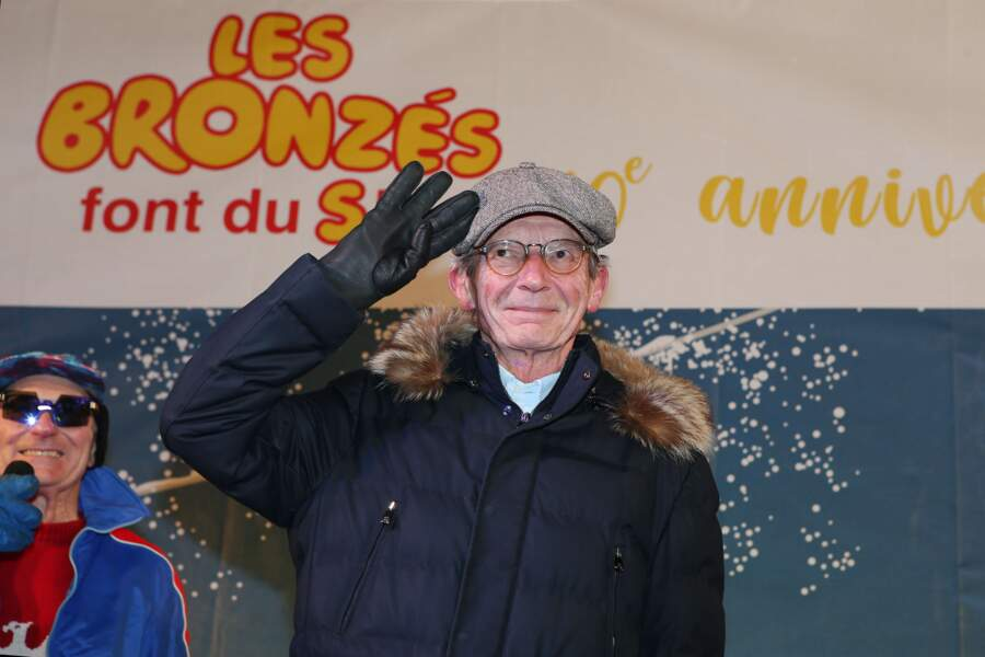 Patrice Leconte, le réalisateur du film culte lors du 40 ème anniversaire à Val d'Isère, le 11 janvier 2020