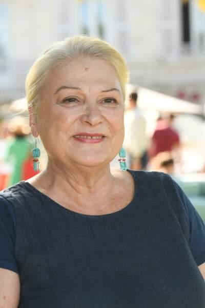 Josiane Balasko, le 23 août 2019 lors de la 12ème édition du Festival du Film Francophone d'Angoulême