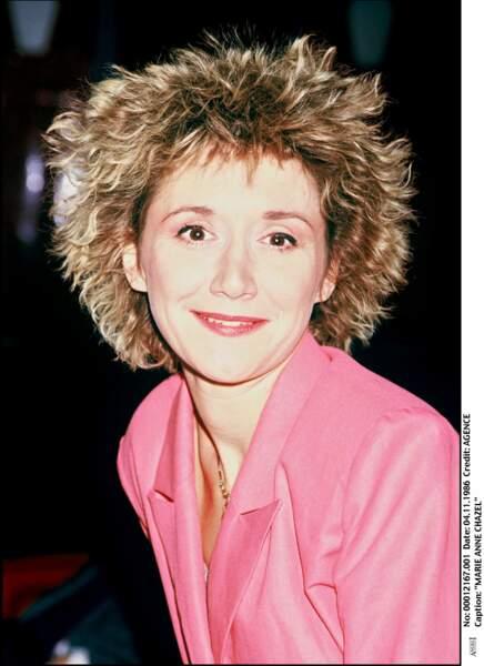 Marie-Anne Chazel en 1986