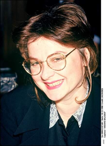 Josiane Balasko alias Nathalie Morin le 18 décembre 1990