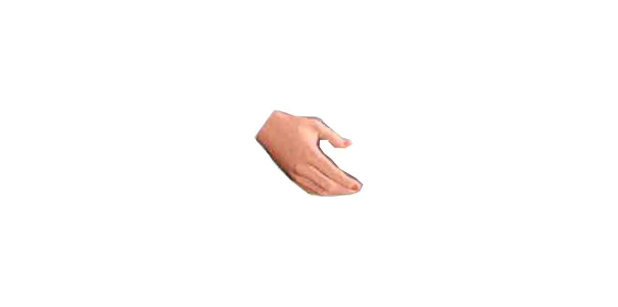 Oracle de la carrière : la main