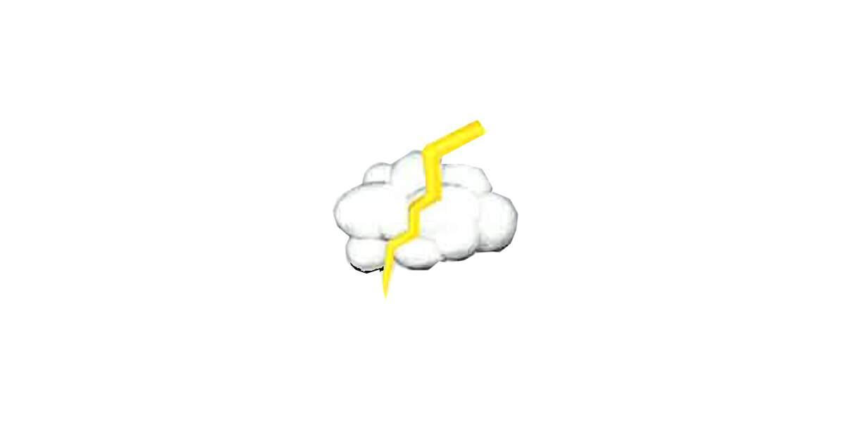 Oracle de la carrière : le nuage foudroyé