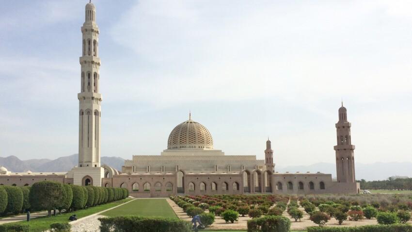 Découvrez Oman : la grande mosquée de Mascate