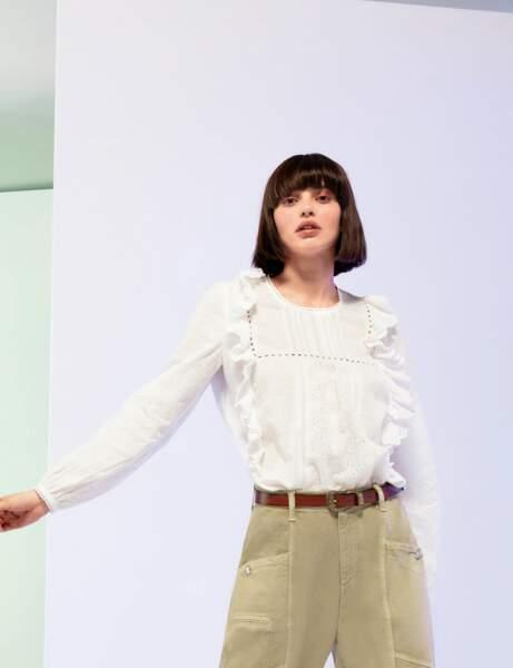 Tendance petit haut  : la blouse romantique