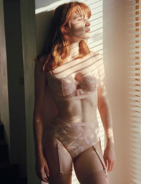 Lingerie spéciale Saint-Valentin : l'ensemble nude