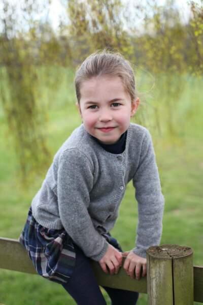 La princesse Charlotte fête ses 4 ans dans le Norfolk.