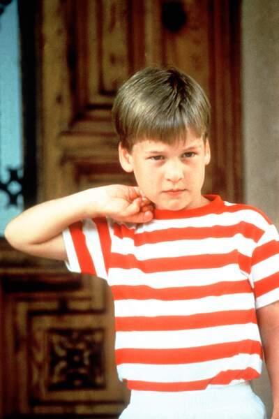 Le prince William enfant, dans les années 90.