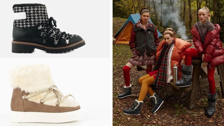 Chaussures plein hiver : 12 modèles stylés, chauds et tout doux à shopper pendant les soldes !