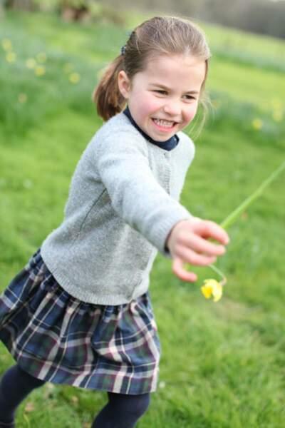 La princesse Charlotte fête ses 4 ans dans le Norfolfk.