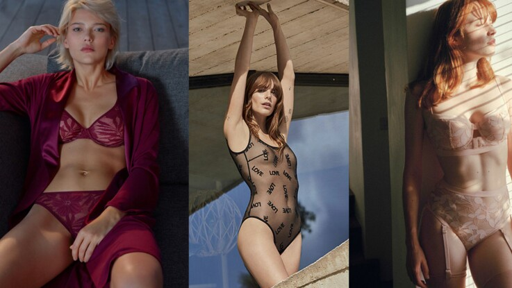 Lingerie sexy : les 20 ensembles sexy et glamour pour séduire