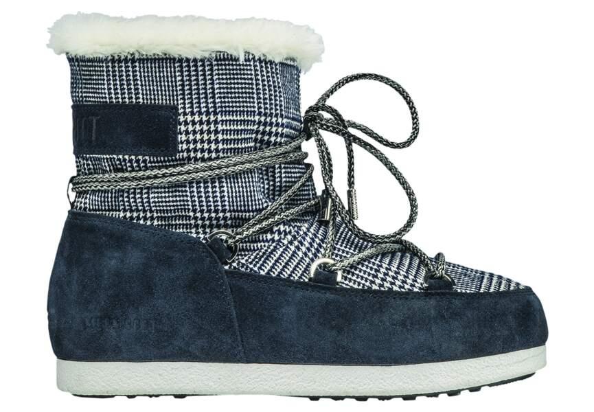 Chaussures d'hiver : les après-ski royales