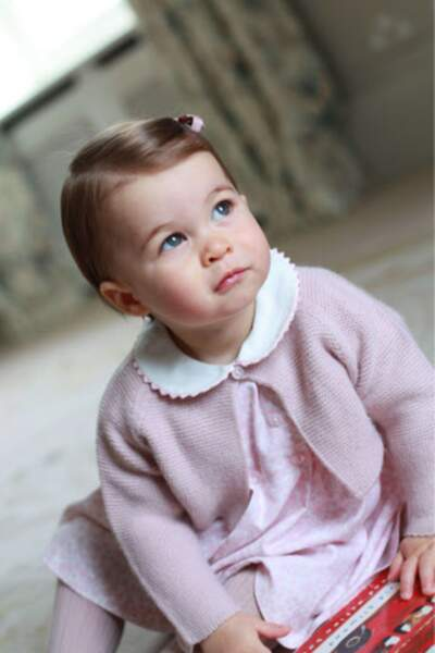 La princesse Charlotte fête son premier anniversaire le 2 mai 2016.