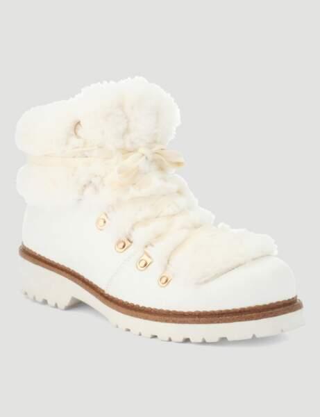 Chaussures d'hiver : les boots raffinées