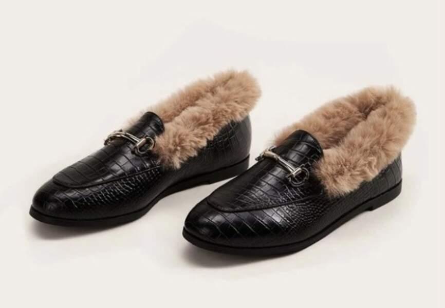 Chaussures d'hiver : les mocassins élégants