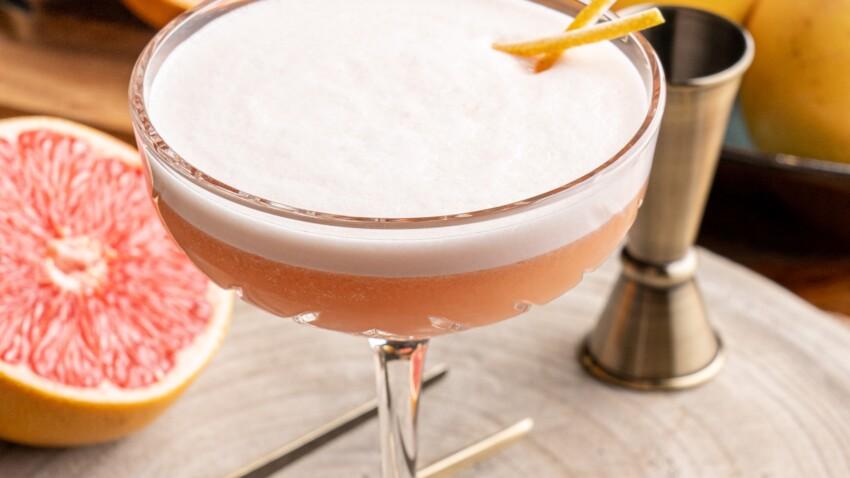 """Short drink au pamplemousse de Floride """"grapeflower"""""""