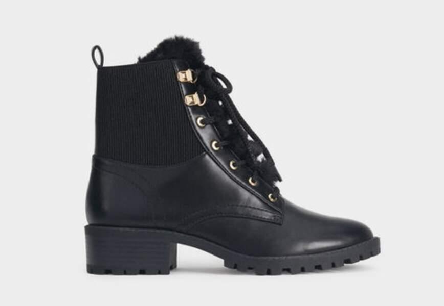 Chaussures d'hiver : les bottines de randonnés rock