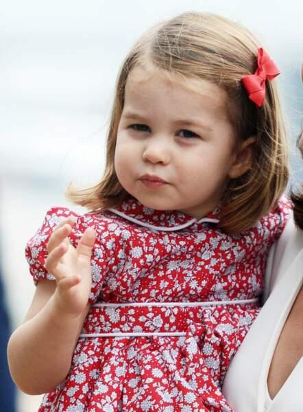La princesse Charlotte à Varsovie, en Pologne, le 17 juillet 2017.