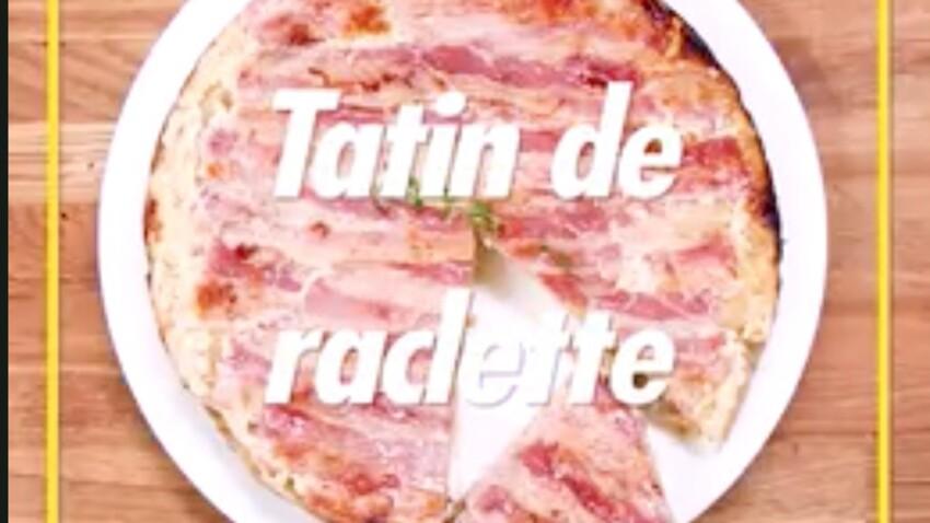 Tatin de raclette : la recette en vidéo