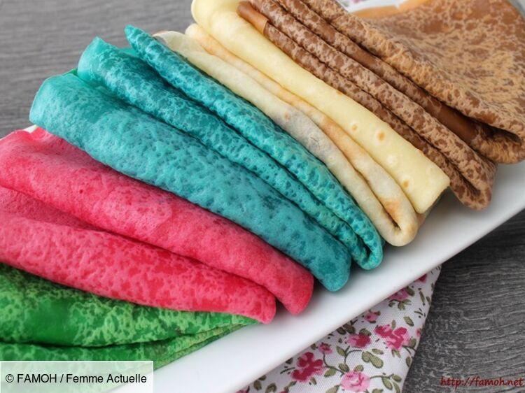 Comment faire des crêpes colorées pour la Chandeleur ?