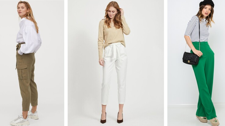 Tendance pantalon taille haute : 15 modèles élégants et pour toutes les morphos